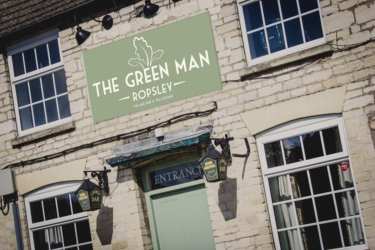 Images from The Green Man Ropsley