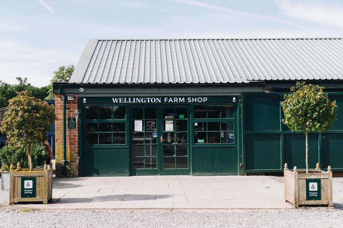 Images from Wellington Farm Shop