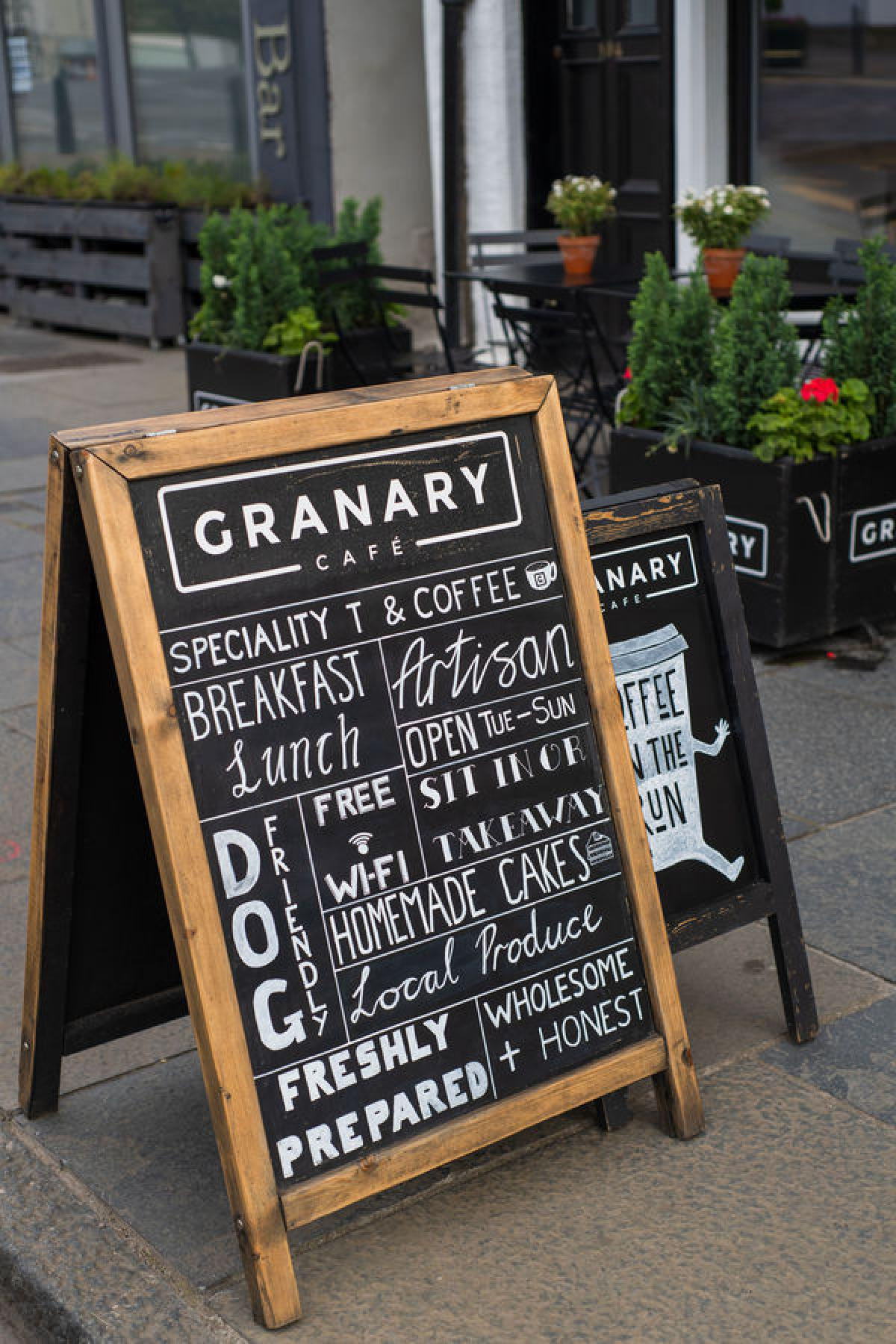 Images from Granary Café