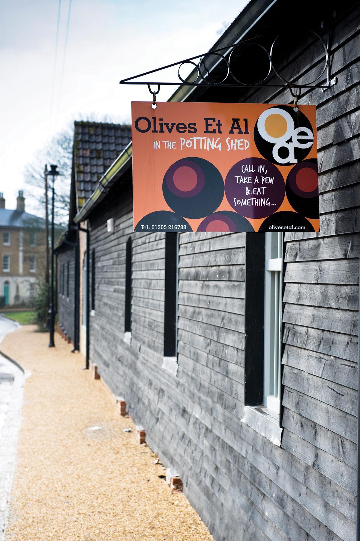 Images from The Potting Shed, Olives Et Al.