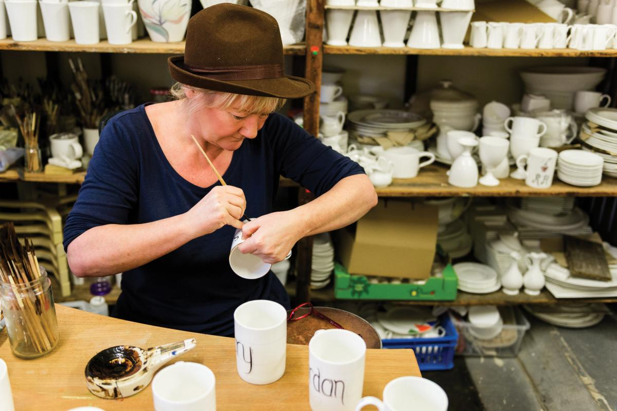 Images from Middleport Pottery