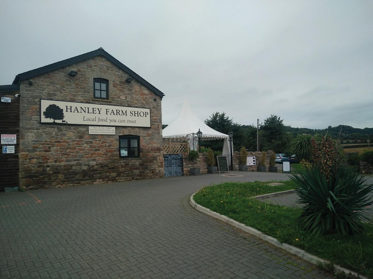 Images from Hanley Farm Shop