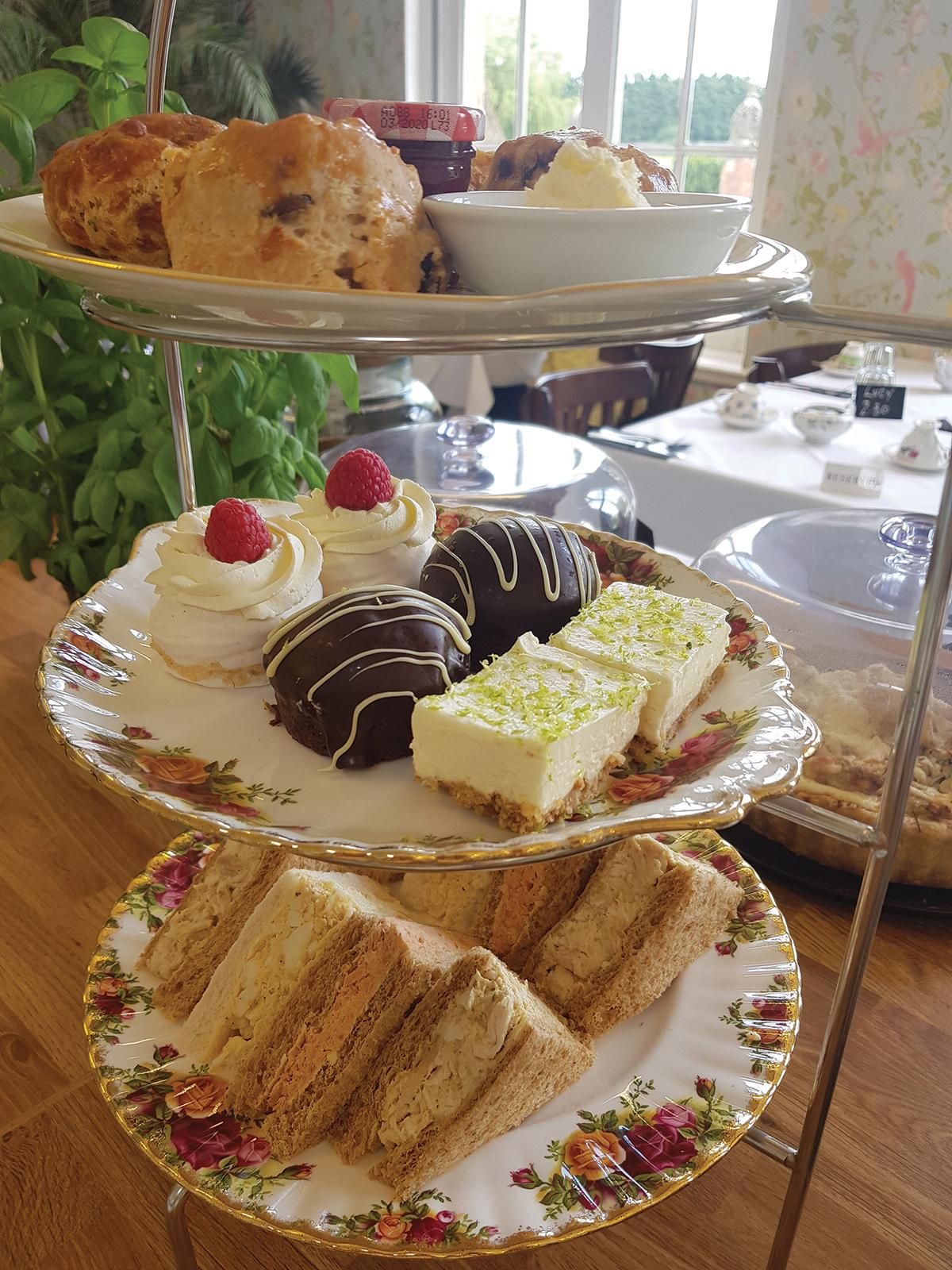 Images from The Orangery Tea Room