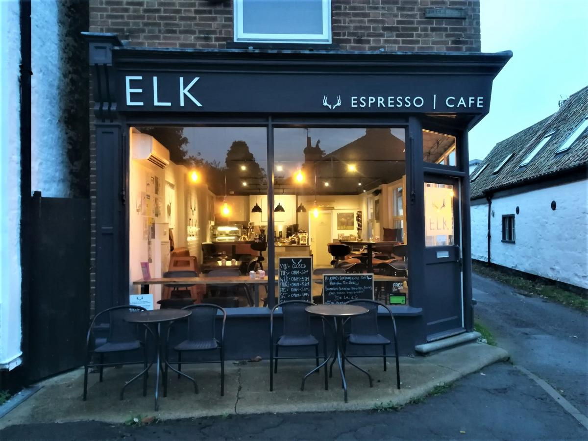 Images from Elk Espresso Café