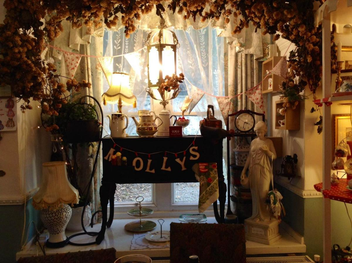 Images from Miss Molly's Tea Rooms