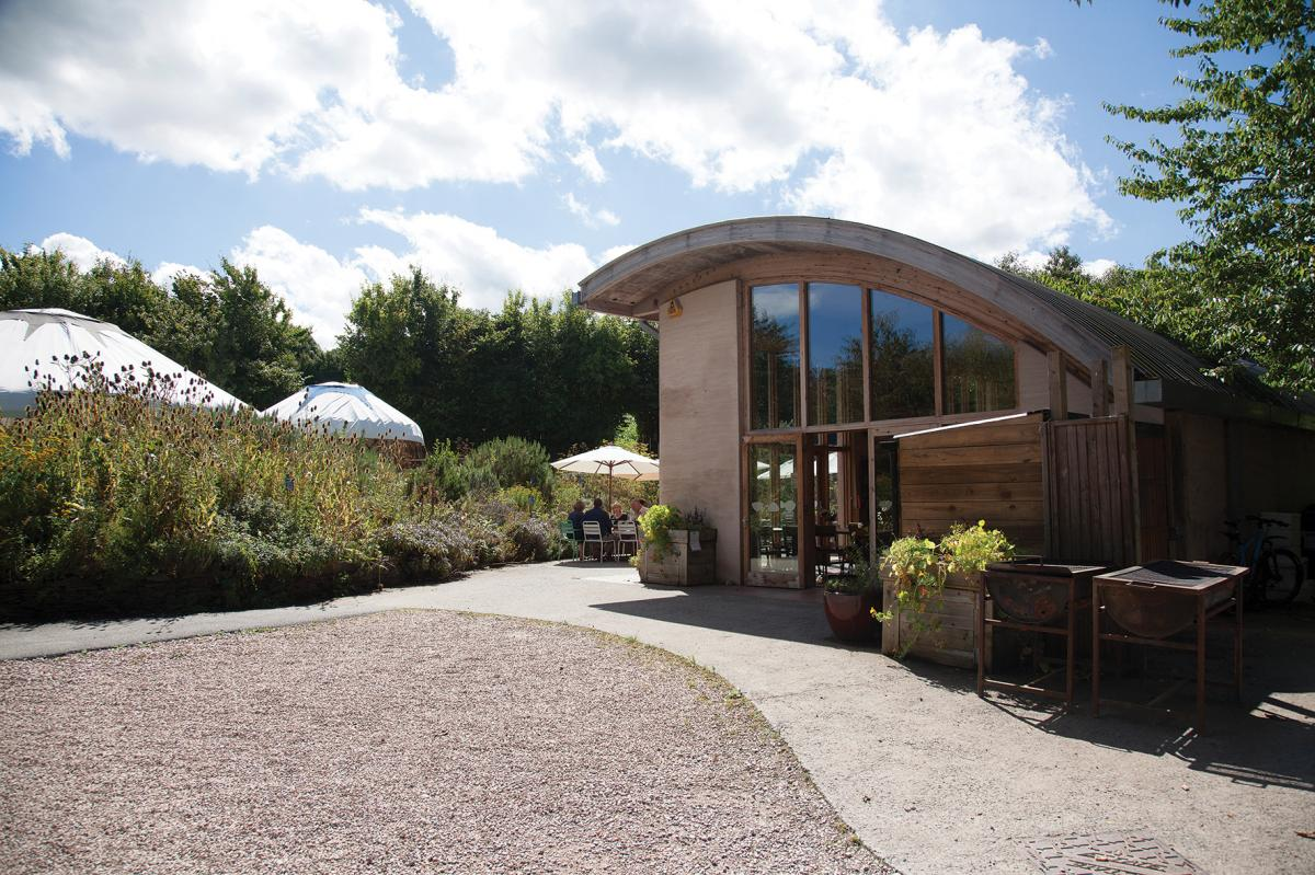Images from Riverford Field Kitchen