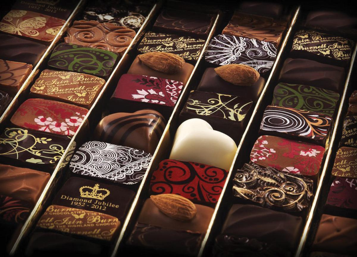 Images from Iain Burnett Highland Chocolatier