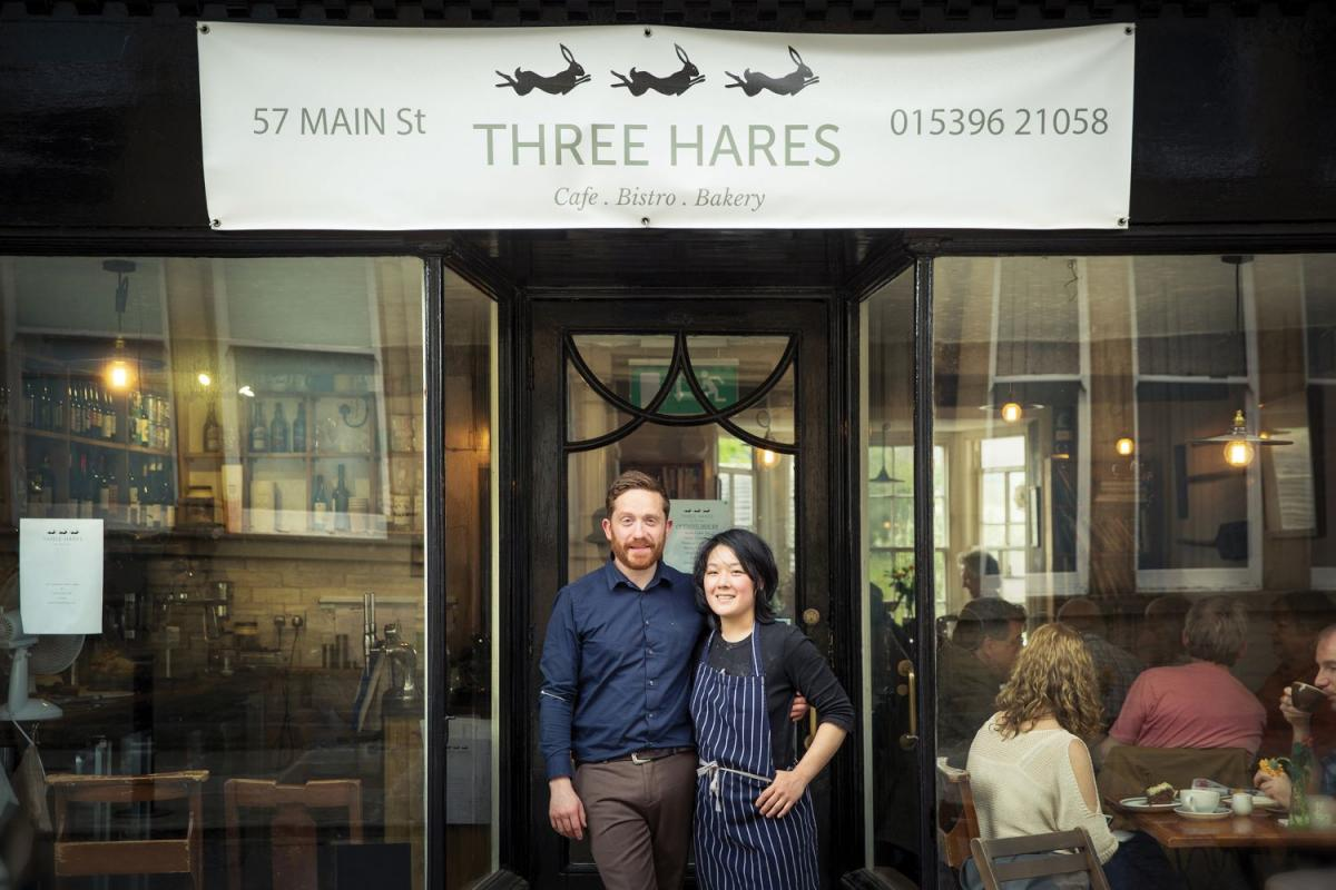 Images from Three Hares Café