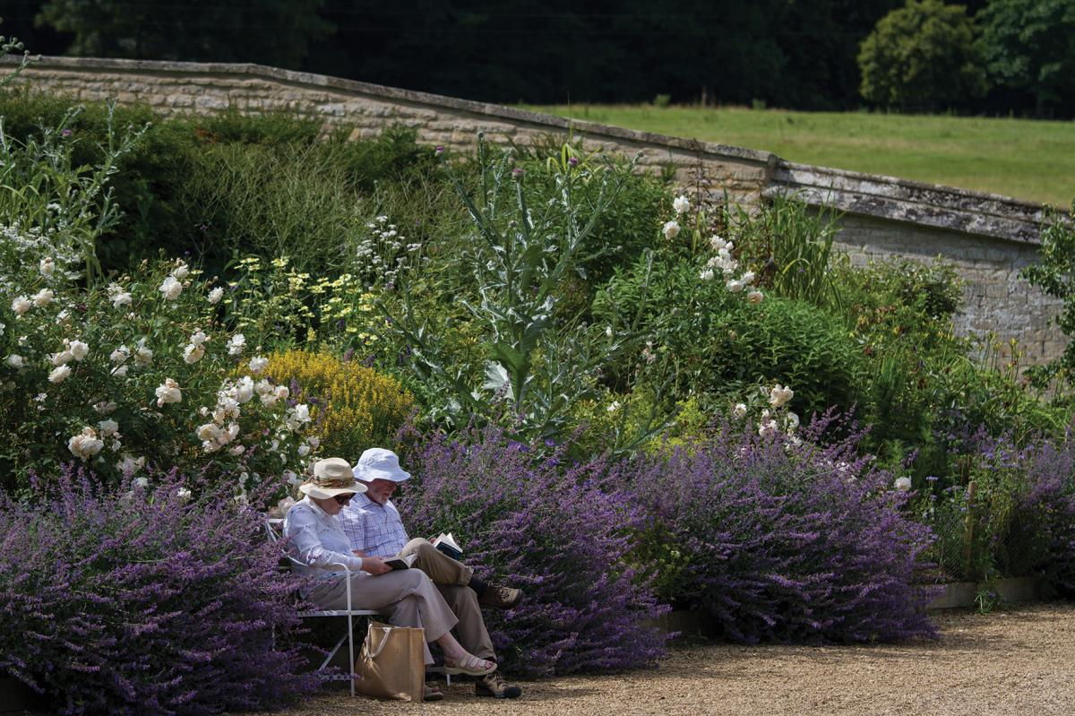 Images from Easton Walled Gardens