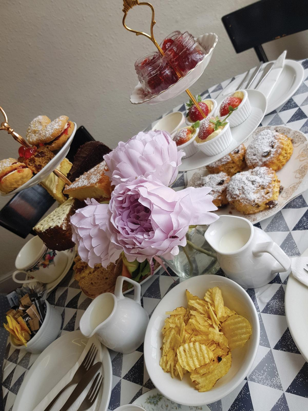 Images from Angel Cakes Tearoom
