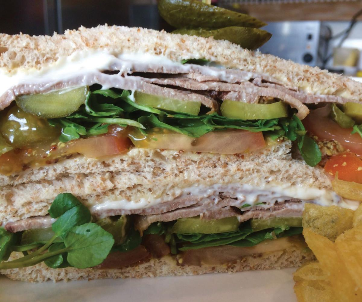 Images from The Hay Barn Café