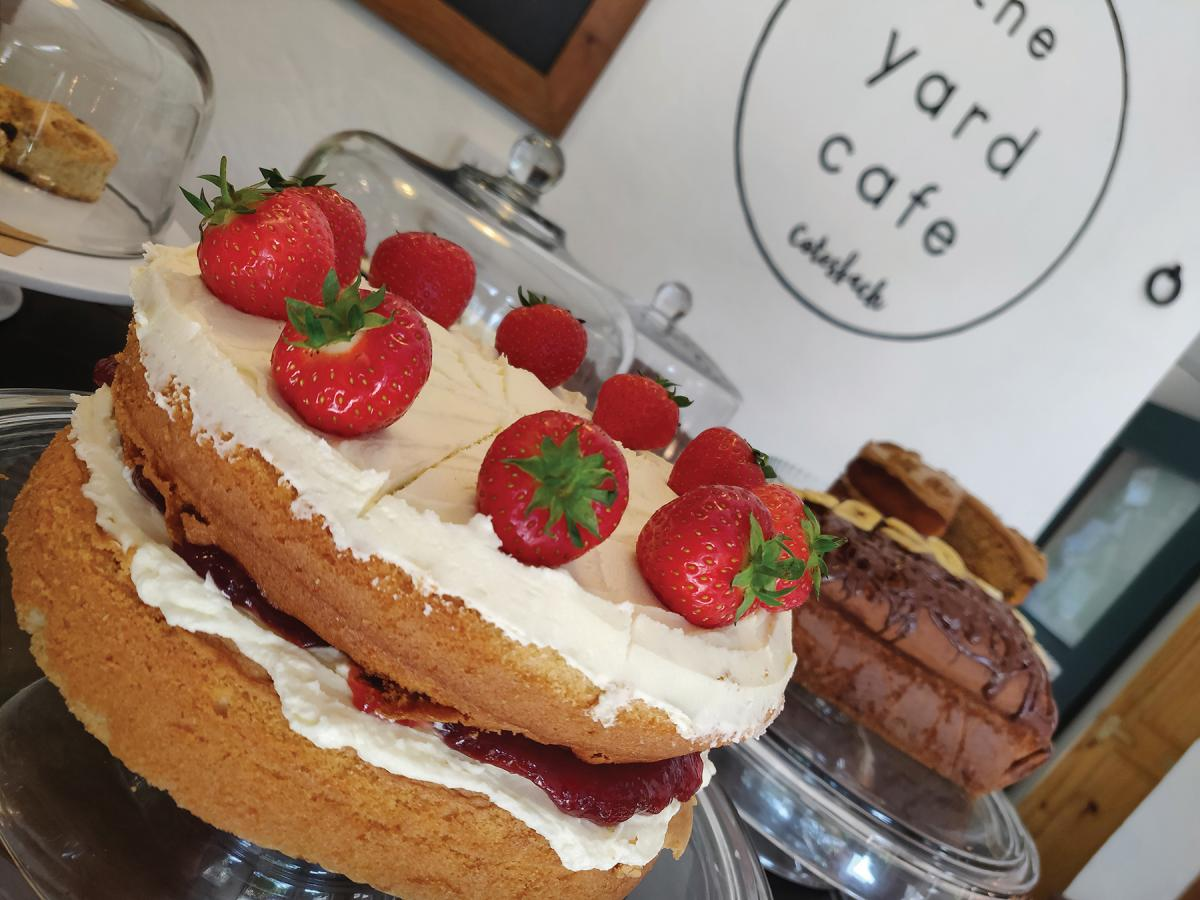 Images from The Yard Café @ Cotesbach