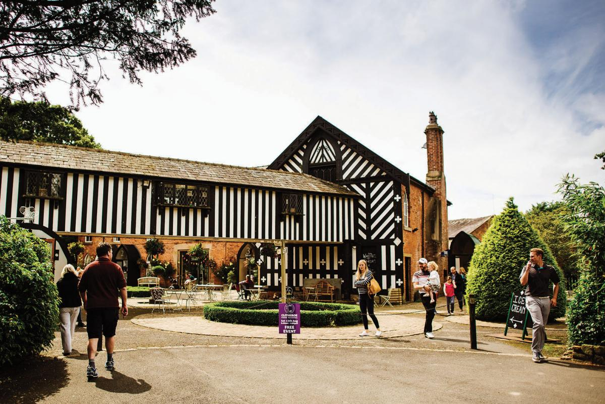 Images from Samlesbury Hall