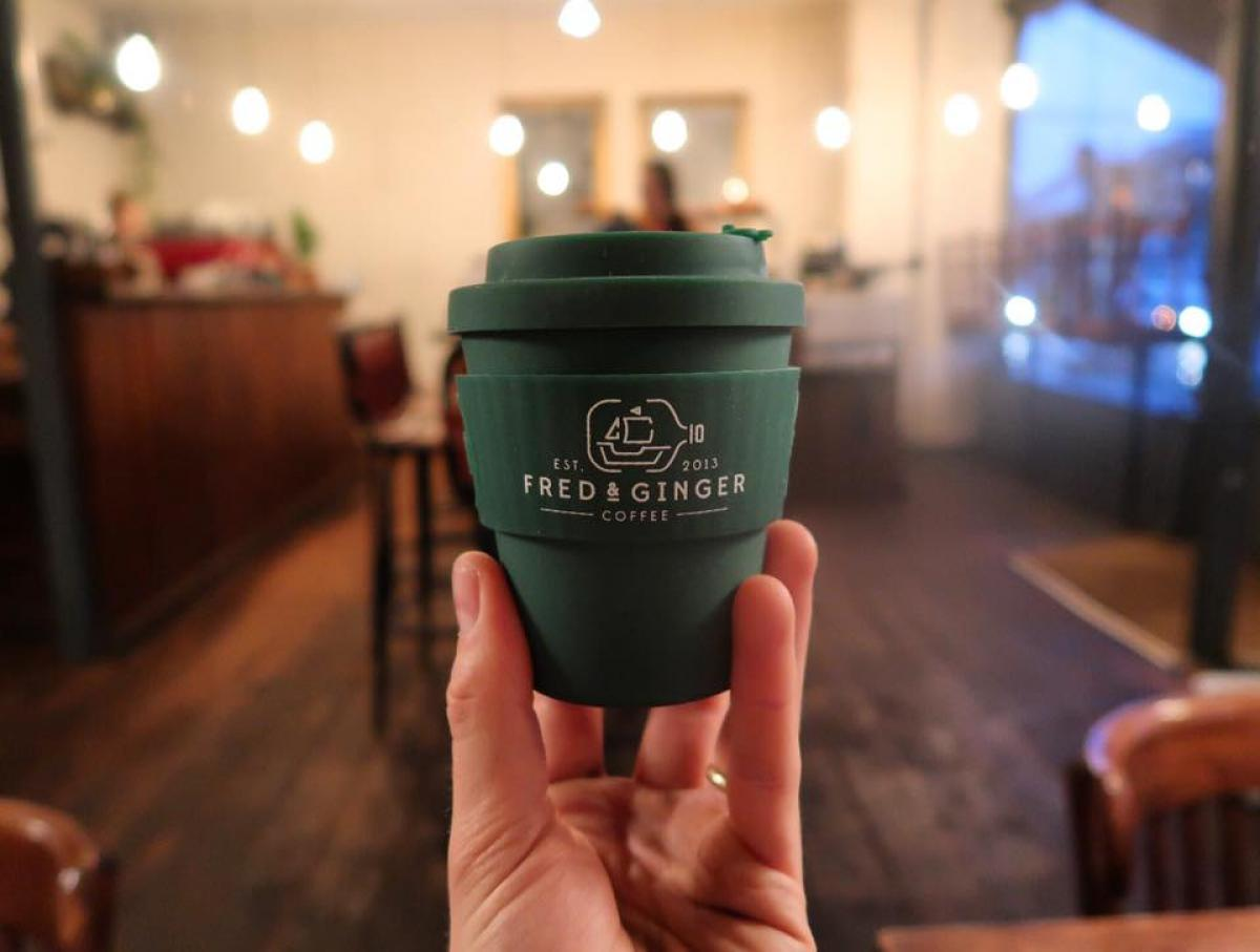 Images from Fred and Ginger Coffee
