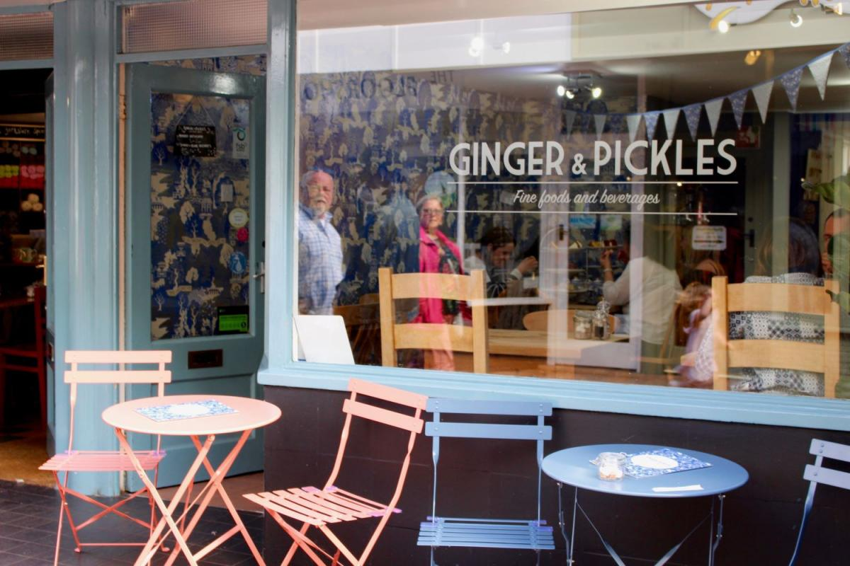 Images from Ginger and Pickles
